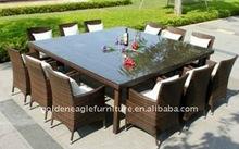 UV-proof garden rattan table set(FP0094)