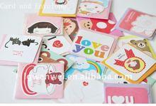 Cute Korea christmas card