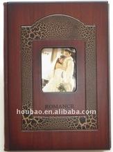 Wedding Dress Photo Wooden Album Cover