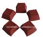 square silicone cup cake moldXY-C1199