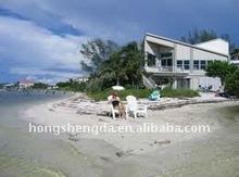 prefabricated steel structure beach house