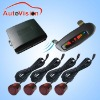 Improved anti-interference 4 sensors parking sensor system for vw(CL-811RF)