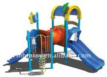 2012 Hot Attraction Kids Plastic Kiddie Slides