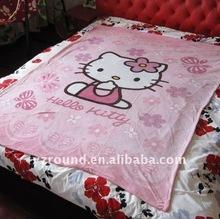 Children blanket with toy