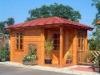 outdoor wooden garden house