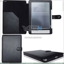 Litchi Skin Leather Case for Kindle DX P-AMAZKINDLEDXCASE002
