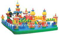 2011's Best-Selling Amusement Park Big Inflatable Funcity