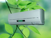 Air Conditioner with Cooling and Heating 110V