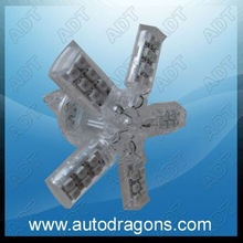Star shape 3157 brake lamp car smd led