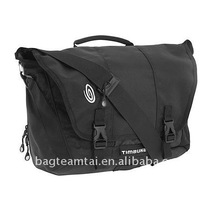 durable canvas with leather trim shoulder messenger bag
