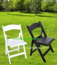 resin folding chair for wedding