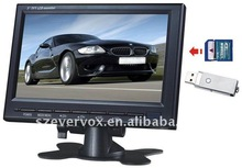7 inch tft color monitor super tft lcd color car tv stand
