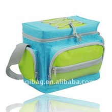 Multi-functional polyester food cooler bag