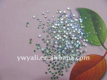 2012 fashion flat bcak rhinestone crystal ss8