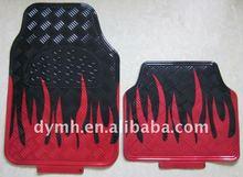 2011 hot sales fashion design pvc aluminum car floor mats factory