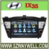 Hyundai IX35 Car DVD GPS Navigation Bluetooth Radio IPOD Touch Screen Video Audio Player with CANBUS car radio ipod