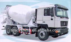 Shacman Concrete Mixer/Mixing Truck/Mixer Truck 9/10/12cubic meters