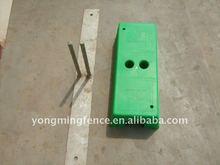 portable fence base