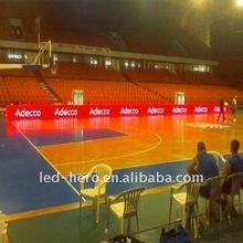 video banner led screen for basketball match