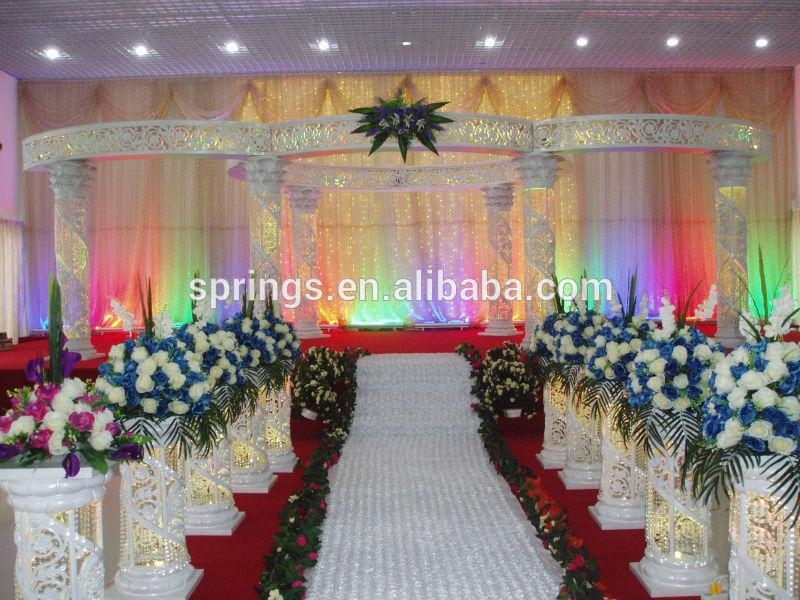 See larger image Roman Wedding pillars
