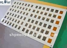 2012 novel polyurethane mesh plate