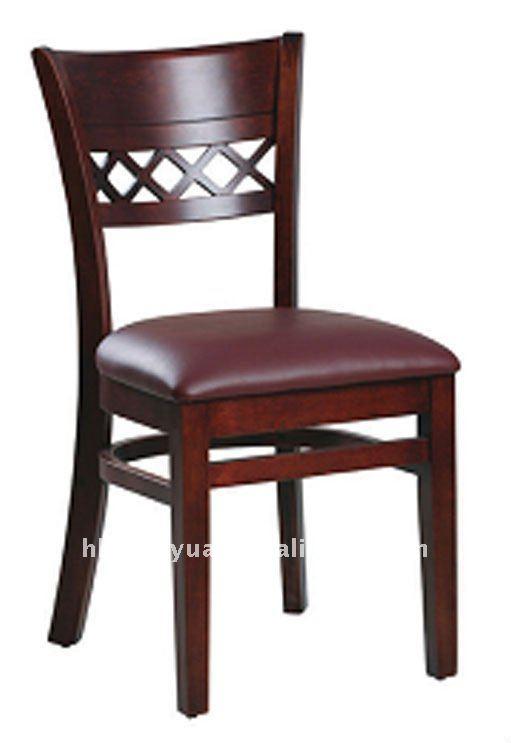 Moderna de goma maciza contempor neo comedor sillas sillas for Precios de sillas de madera para comedor