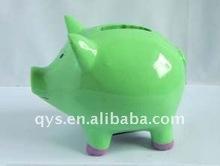 pig shaped piggy banks