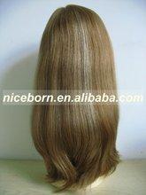 Real Brazilian hair blonde women wigs