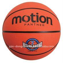 size 7 rubber basket ball
