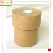 fiber water activated reinforced gummed kraft paper ashesive tape
