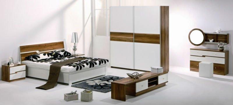 milano contemporanea tendenza moderna bianco mobili camera da letto ...