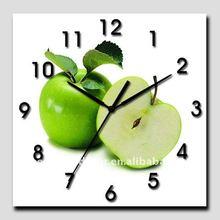 2012 wooden wall clock