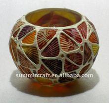 unique polyresin seashell vase