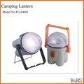 fge abs led de la lámpara de camping para uso al aire libre