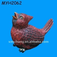 2011 newest popular chinese resin animals of bird