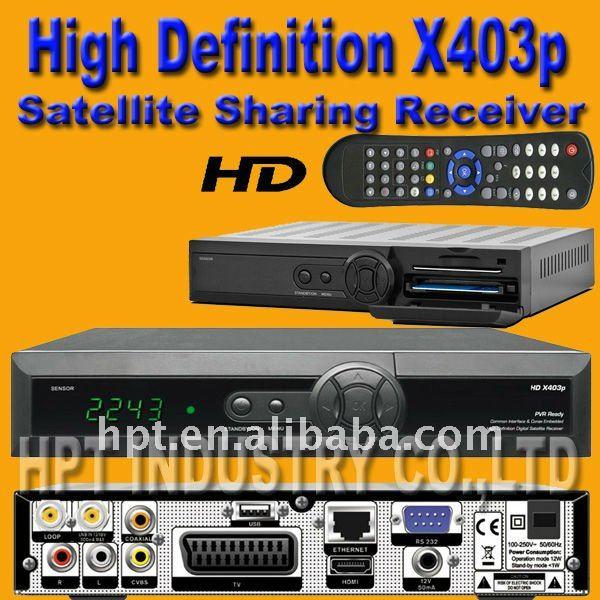Details Orton X403P MPEG4 H264 HD CCcam Internet Sharing Set Top Box