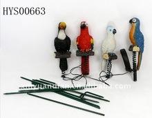 parrots sets solar light decoration