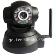 "1/4"" COLOUR CMOS H.264 IP wireless wifi MSN PT security camera in protection"