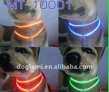 LED dog collar/light up dog collar