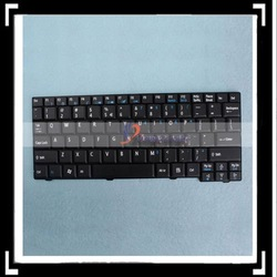 Black Color Waterproof Keyboard For Notebook(For Acer Aspire One AEZG5R00010 ZG5)