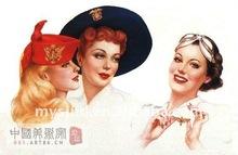retro poster art picture