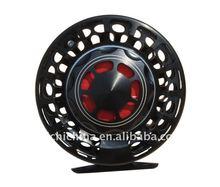 Black Color Machine Cut Aluminum waterproof fly fishing reel