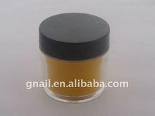 Acrylic yellow Nail Art Tips Crystal Polymer Powder