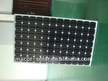 high power monocrystalline solar panel for 210W