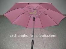 fan umbrellas with wind for anti-heat