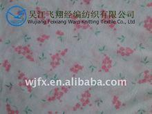 Warp Knitting Printed Flannel Fabric