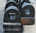 El desgaste - piezas resistentes para trituradora de clinker