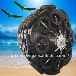 Floating type rubber fender