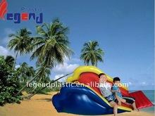 Pvc inflável água super slide