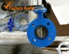 Ductile Iron Flanged U Type Butterfly Valve